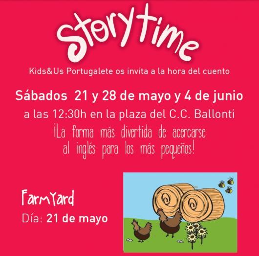 """Kids&Us os invita de nuevo a su """"Storytime"""" en Ballonti"""