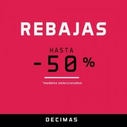 DÉCIMAS - Rebajas hasta 50%