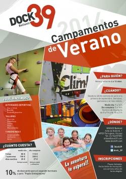 CAMPAMENTOS DE VERANO EN DOCK39