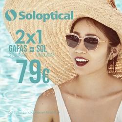 SOLOPTICAL - 2 x 1 Gafas de sol y graduadas